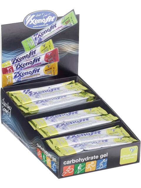 Xenofit Carbohydrate Gel Box Citrus-Mix 30 x 25g
